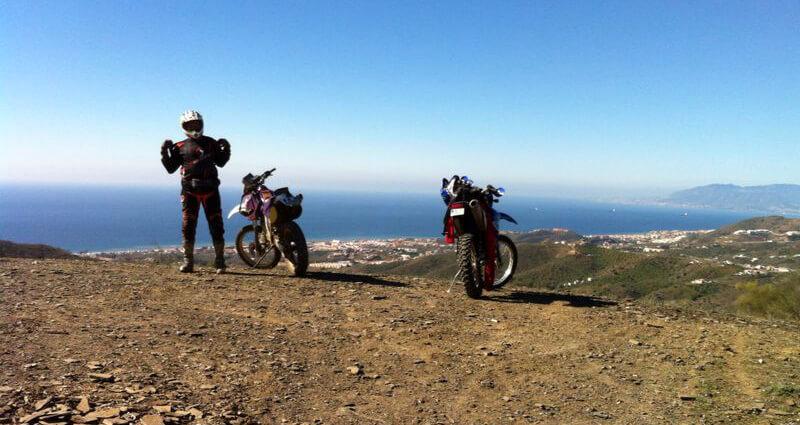 balade moto espagne andalousie
