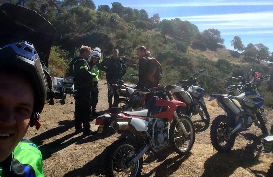 Randonnées VTT et Moto enduro