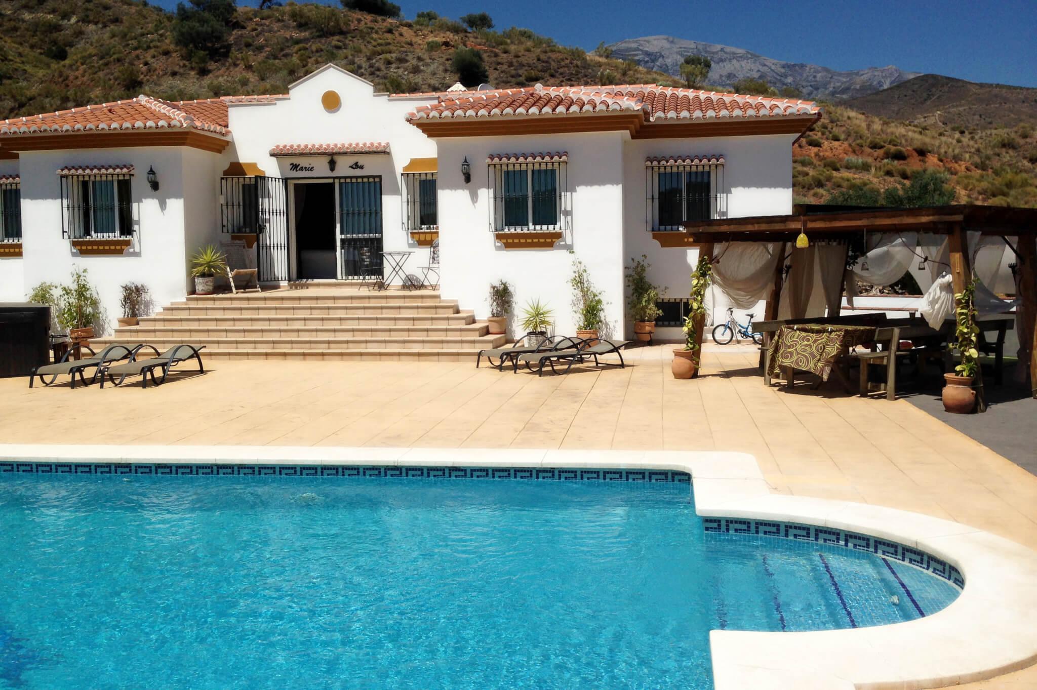 Maison location espagne avec piscine ventana blog for Villa a louer a casablanca avec piscine
