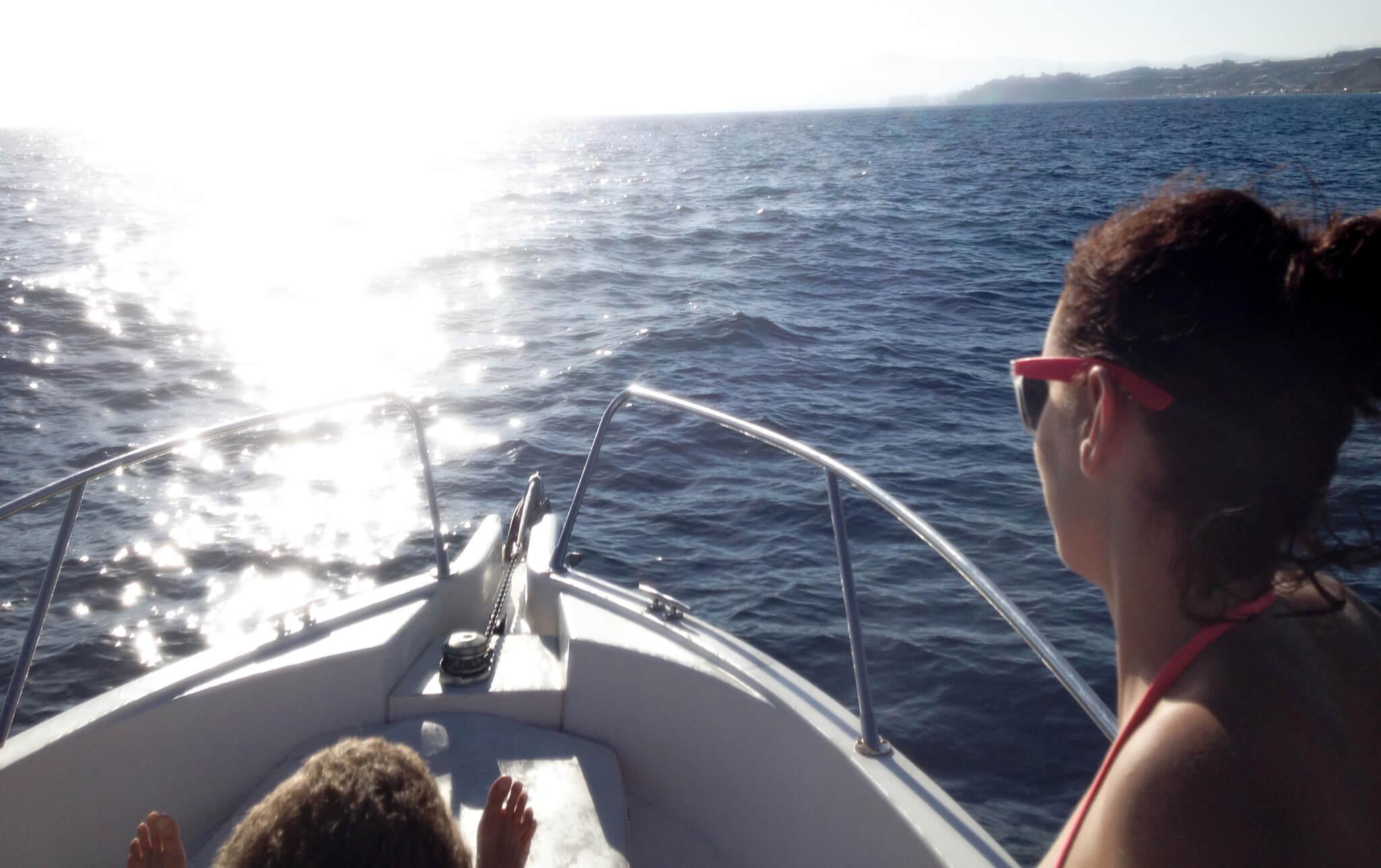 sortie bateau Costa del sol